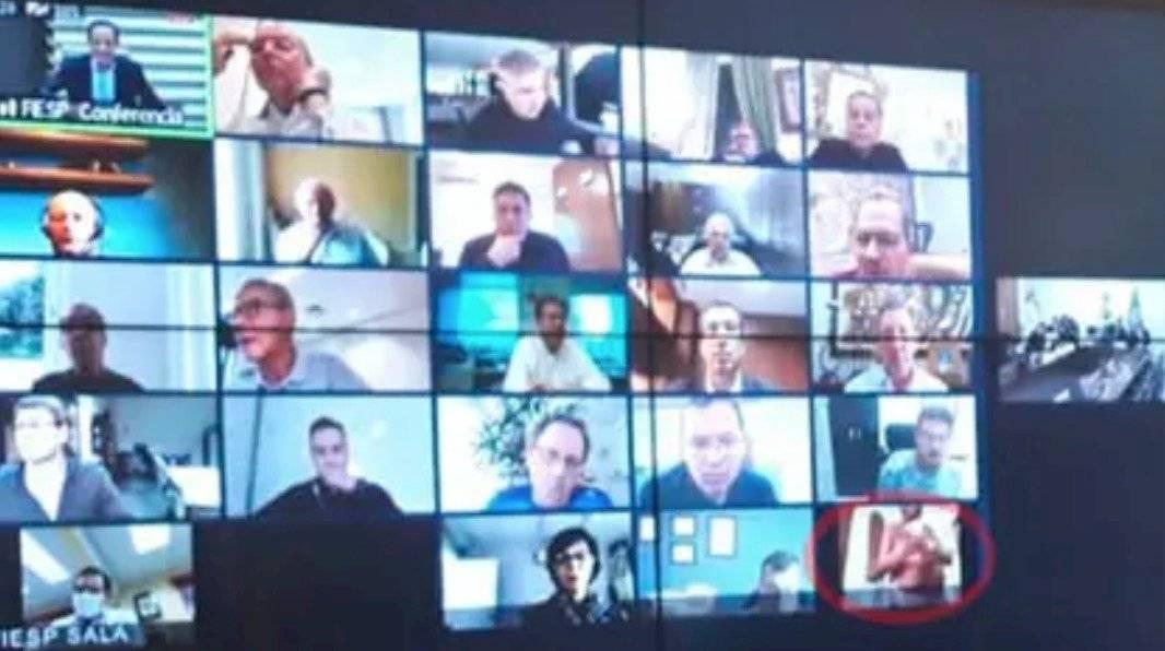 Videoconferencia de Bolsonaro