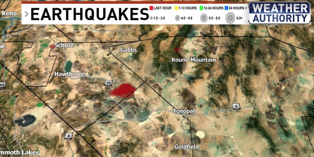 Área 51: Terremoto atinge estado de Nevada, nos Estados Unidos