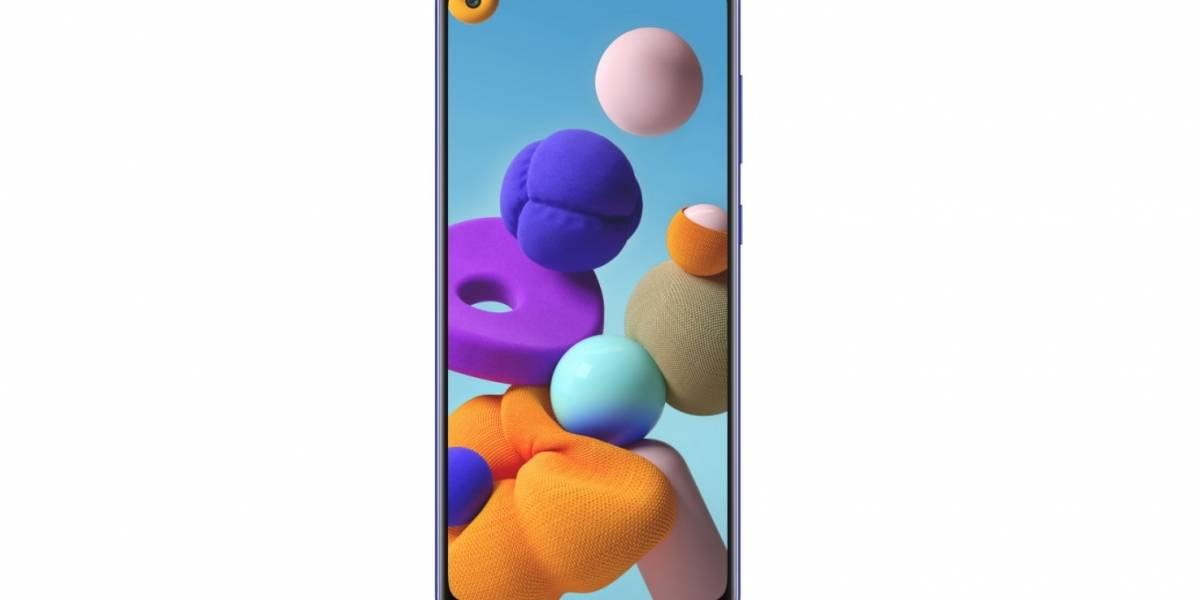 Tecnologia: Samsung apresenta novo smartphone Galaxy A21s com câmera quádrupla