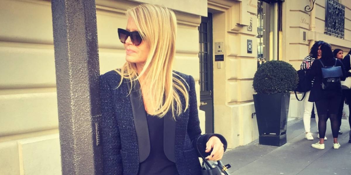 Cecilia Bolocco diseña chaqueta y el 100% de las ventas será para niños con cáncer
