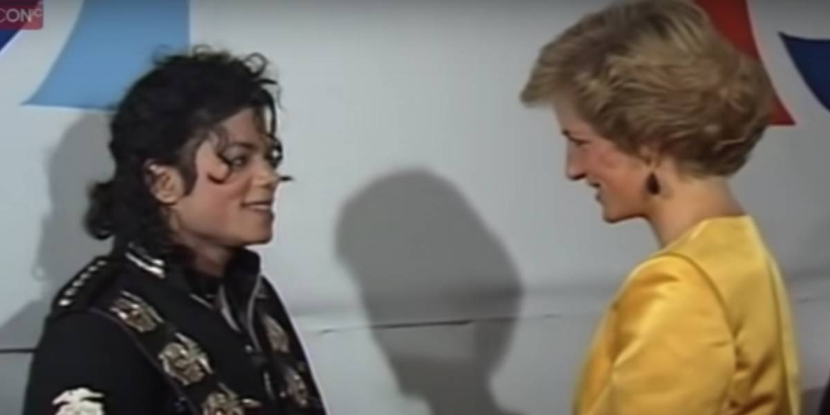 Vídeo relembra encontro especial de Lady Di com Michael Jackson