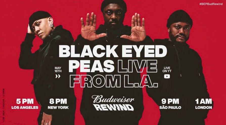 The Black Eyed Peas dará un concierto interactivo / Foto: Gentileza