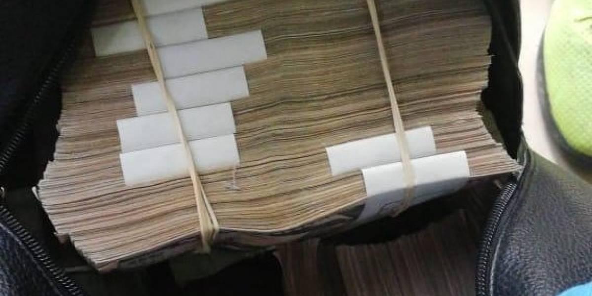 Fiscalía decomisó $1'694.720,80 al desmantelar red de corrupción en Manabí