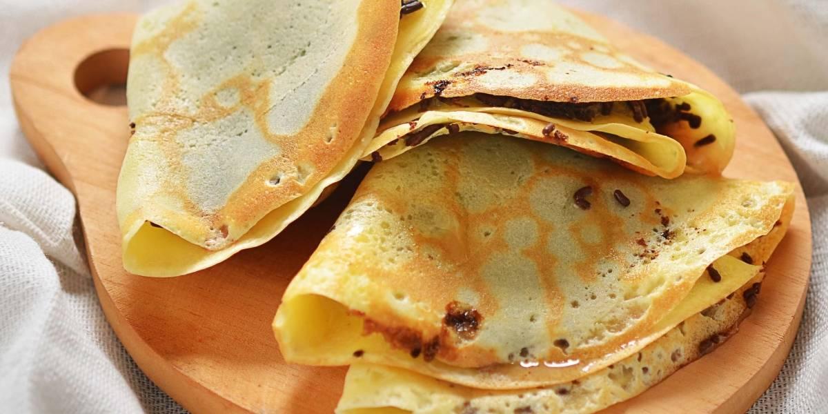 A receita de crepioca cremosa para fazer no café da tarde