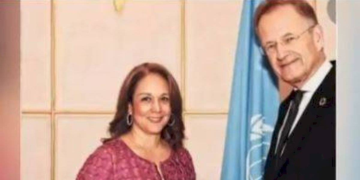 Embajadora colombiana en la ONU usaba carro diplomático para vueltas particulares de su novio en Zúrich