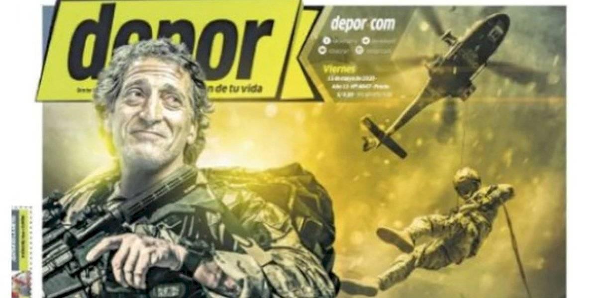 """""""¡Salas al rescate!"""": Portada en Perú anuncia el desembarco del """"Comandante"""" en Alianza Lima"""