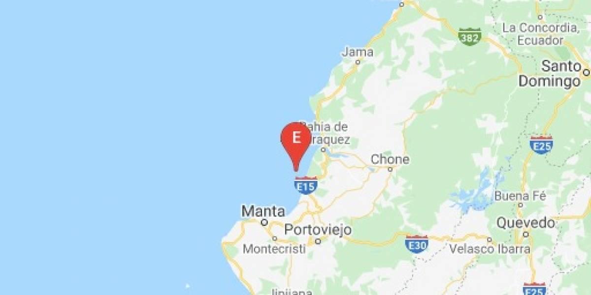 Dos sismos se registraron en Manabí este 15 de mayo