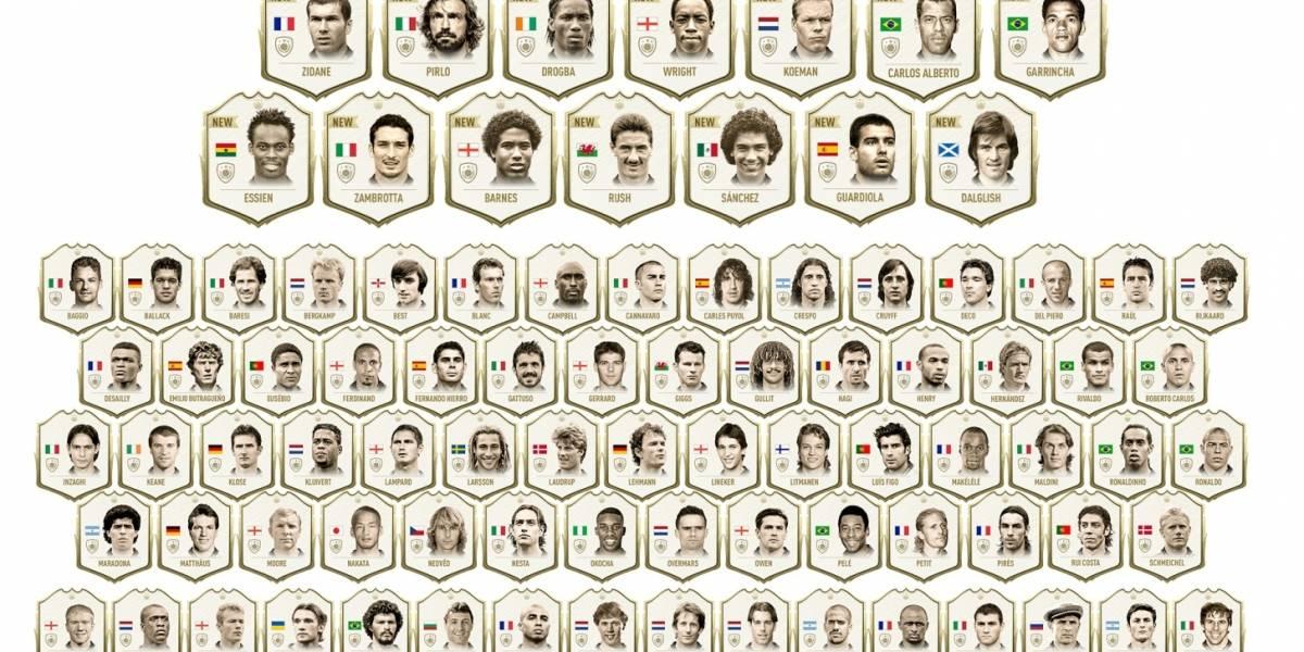 ¿Quiénes son los Iconos mejor valorados en el FIFA Ultimate Team?