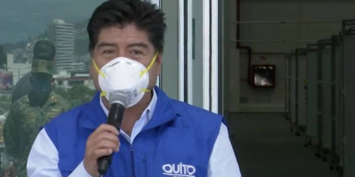 Quito: Epidemiológos conversan con alcalde Yunda por el paso a semáforo amarillo