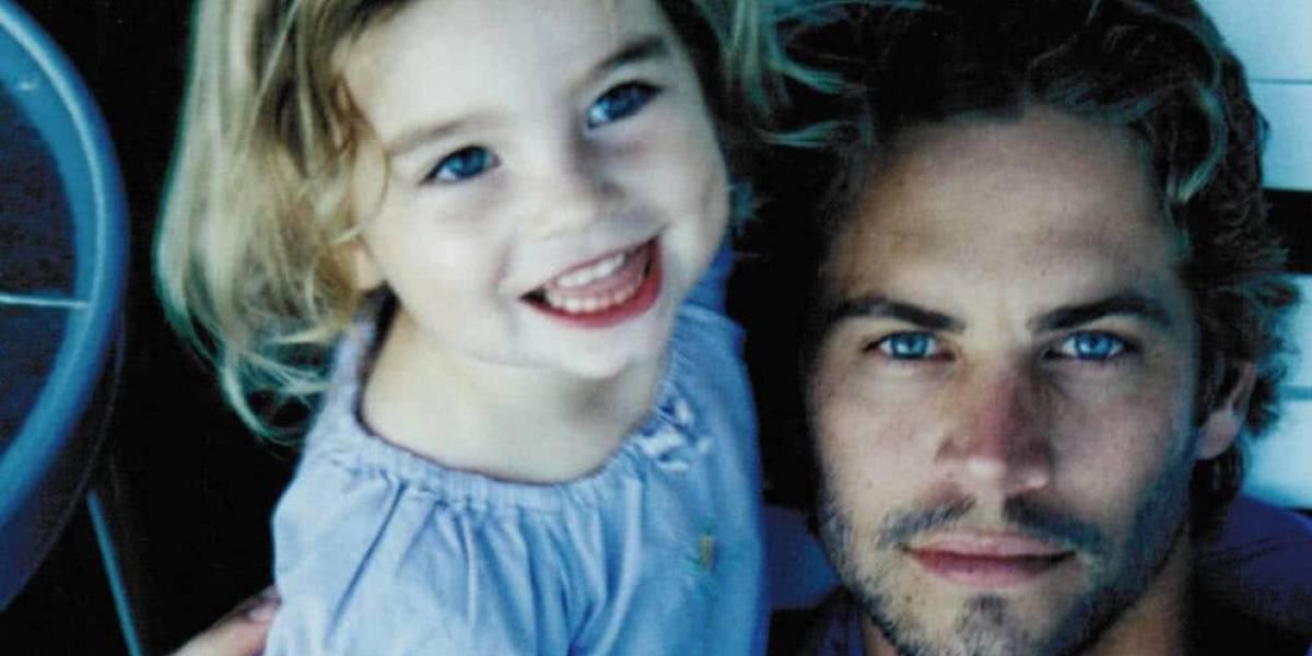 Hija de Paul Walker muestra foto inédita de su padre