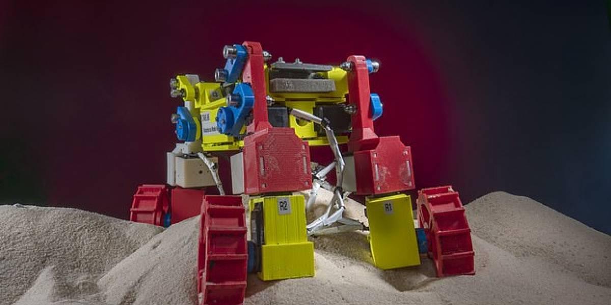 La NASA desarrolla un mini Mars Rover que puede escalar colinas cubierto de arena