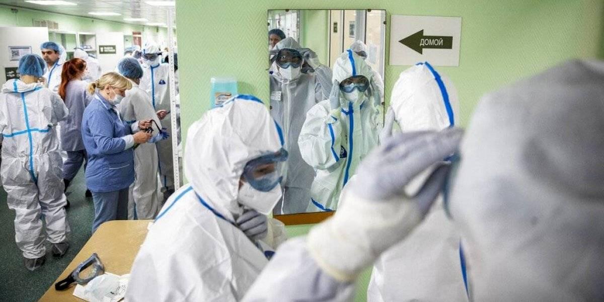 Rusia reporta más de 12,000 casos de COVID-19 en un día