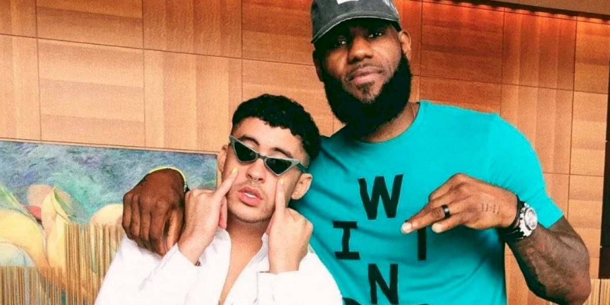 Bad Bunny se une a iniciativa de LeBron James
