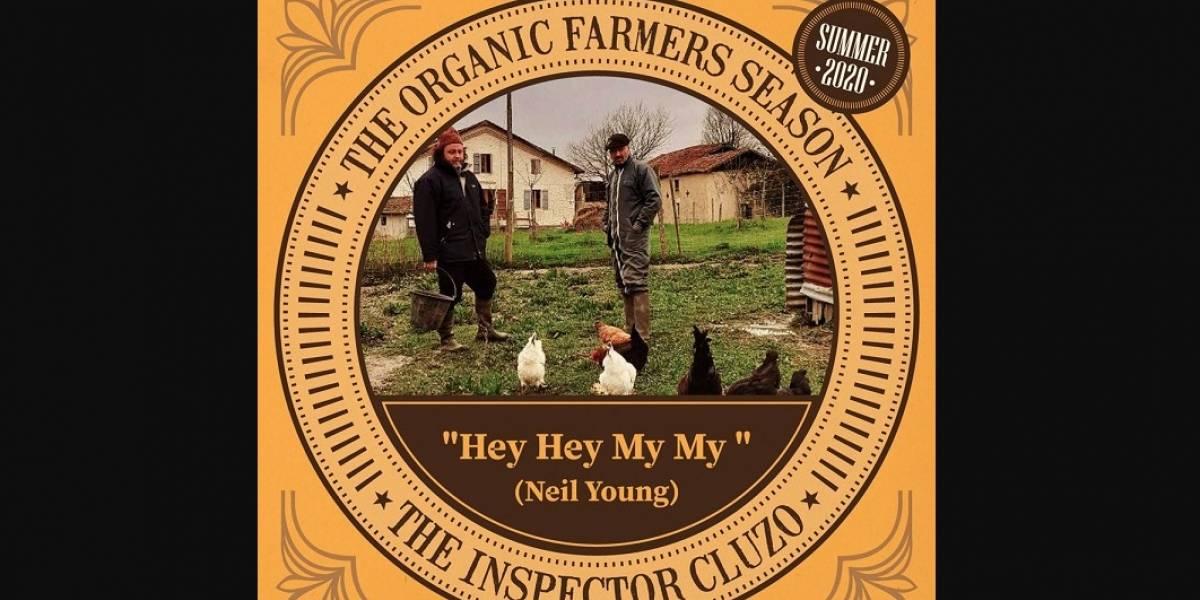 The Inspector Cluzo le hace un canto a la tierra con un cover de 'Hey Hey, My My'