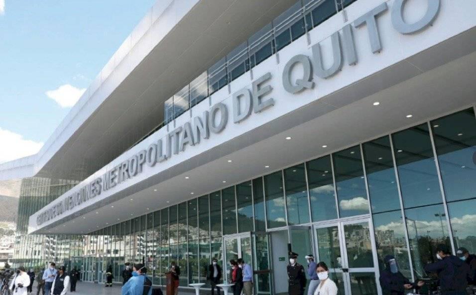 Apertura del Centro de Atención temporal Quito Solidario