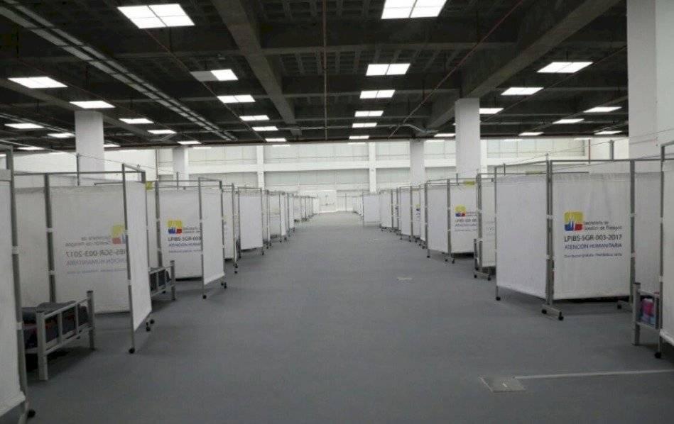 Cuenta con 13.800 metros cuadrados de extensión y dispone de 370 camas para pacientes