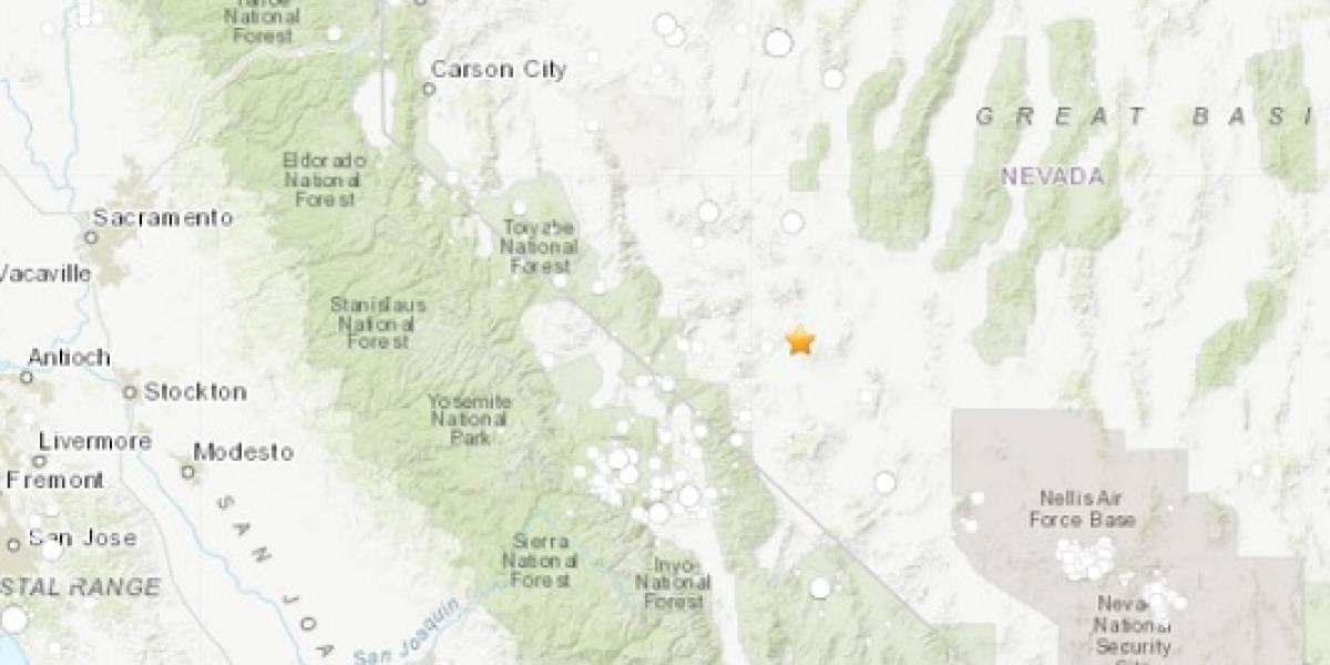Temblor en Estados Unidos: sismo de 6,5 remece a Nevada