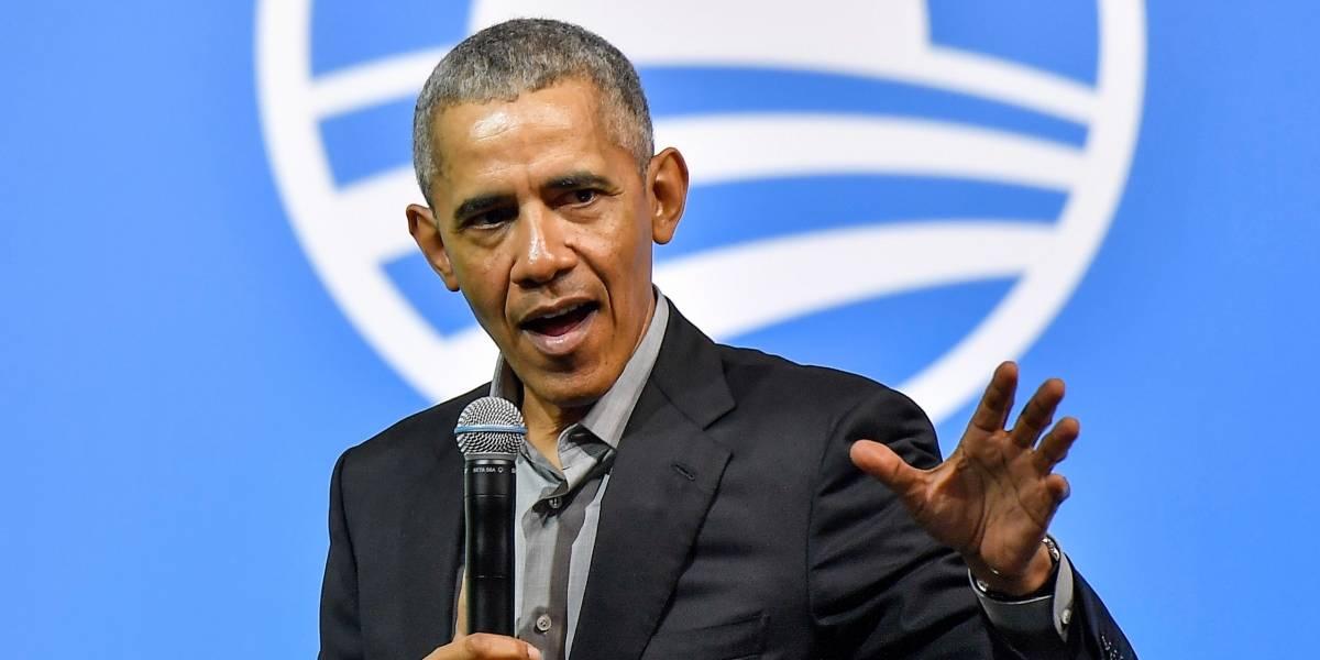 Obama critica indirectamente a Trump durante acto público virtual