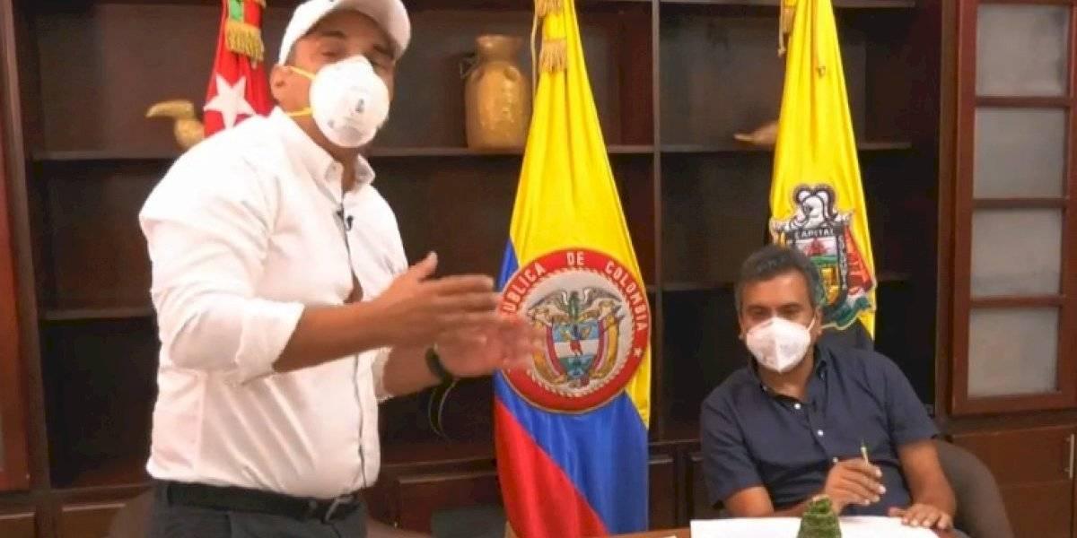 (Video) Alcalde presentó su proyecto de POT con una maqueta con las figuras de un pesebre