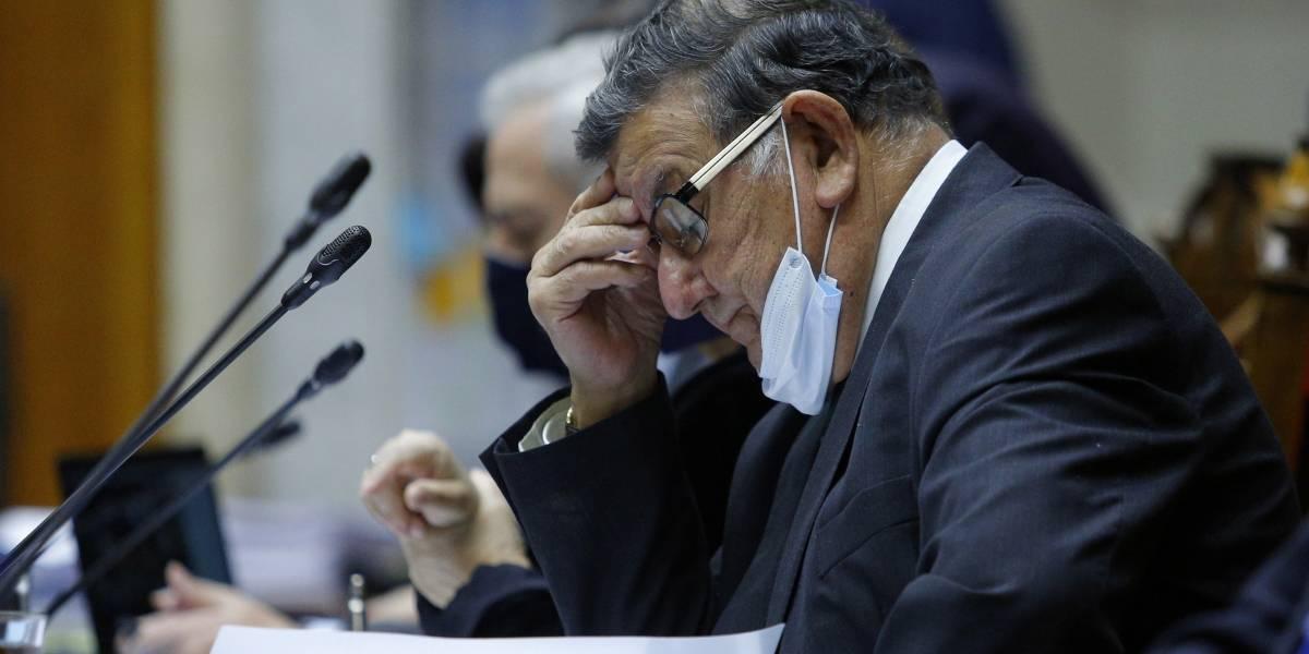 """Senador Quinteros ahora pide perdón: """"Mi intención nunca fue transgredir una norma"""""""