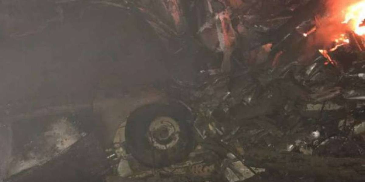 Queda de avião mata piloto, enfermeira e dois médicos, um deles com covid-19, no CE
