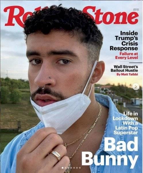 Bad Bunny es portada de la revista Rolling Stone