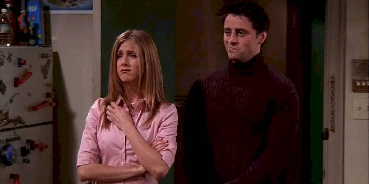 Filtran foto de Jennifer Aniston y Matt LeBlanc besándose en la vida real