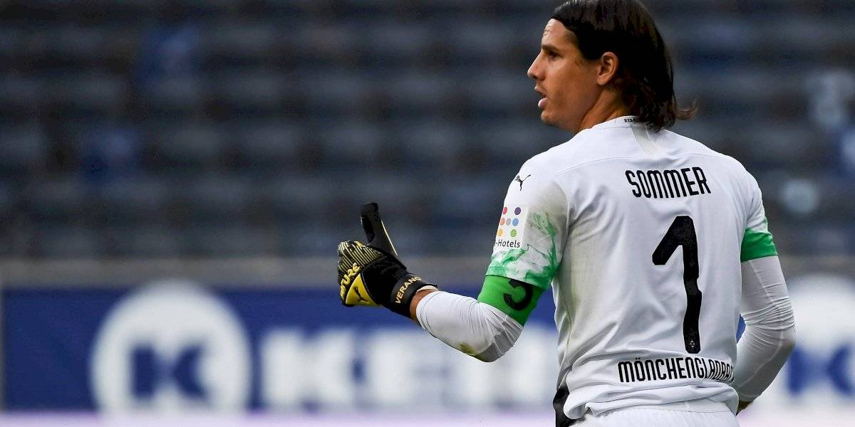 Monchengladbach venció al Frankfurt y le puso presión al Leverkusen de Aránguiz