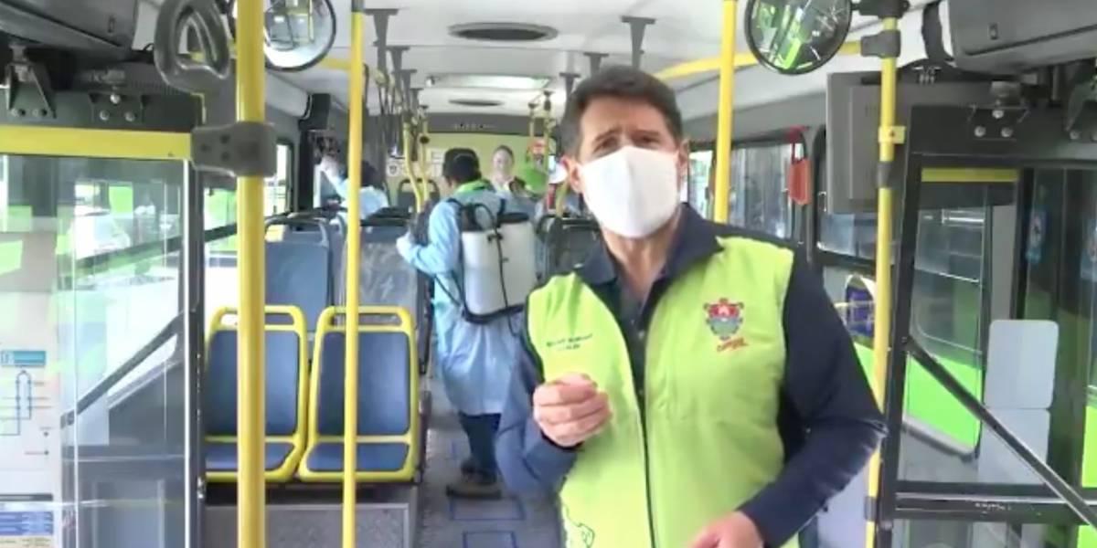 VIDEO. Alcalde Ricardo Quiñonez destina unidades del Transmetro para trasladar a médicos