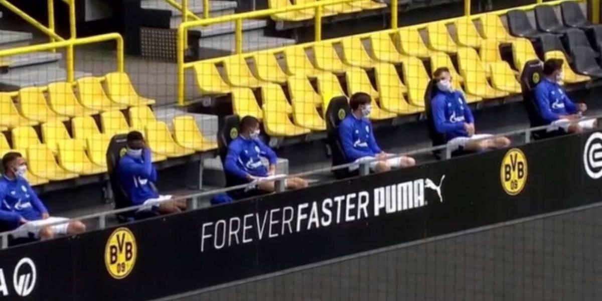 Suplentes acatan las medidas establecidas por la Bundesliga