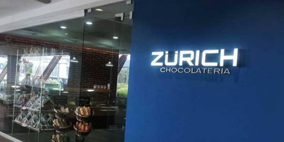 Chocolatería Zürich activa protocolos tras caso positivo de Covid-19