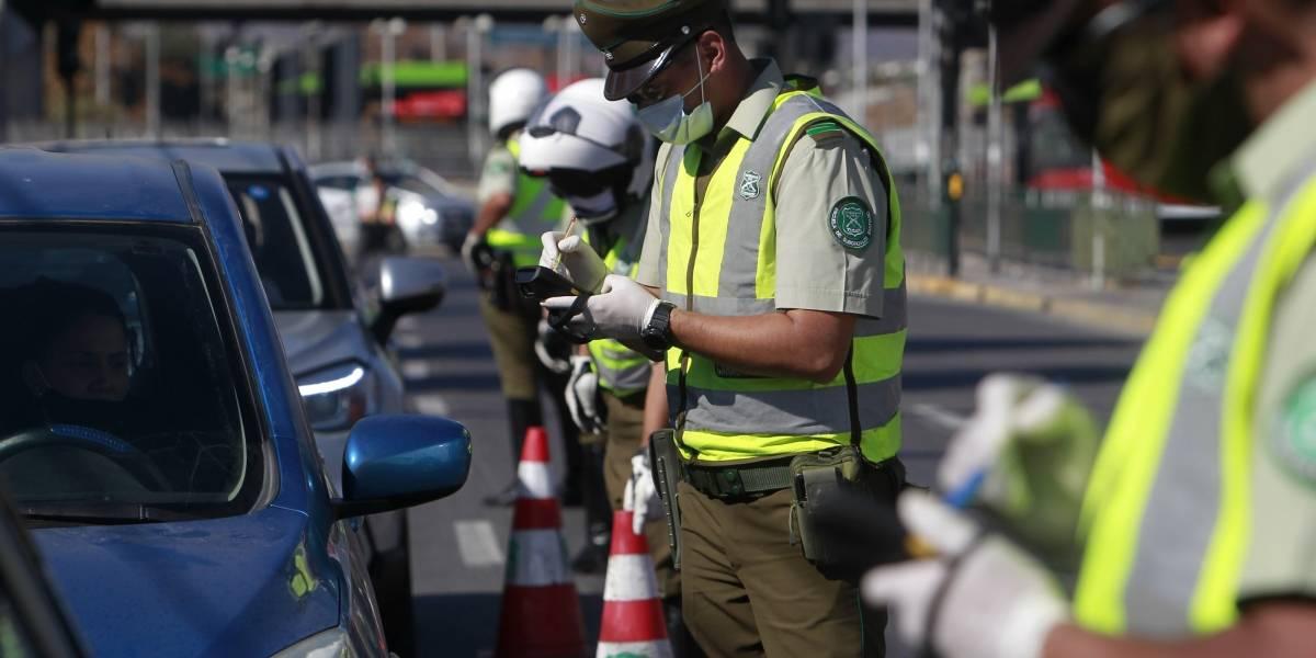 Carabineros retuvo a 675 personas en todo el país por no acatar toque de queda: todo bien mientras sea en La Legua