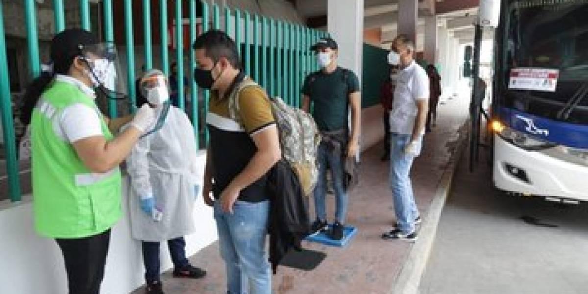 18 atlanticenses atrapados en Pamplona regresaron en bus humanitario a Barranquilla