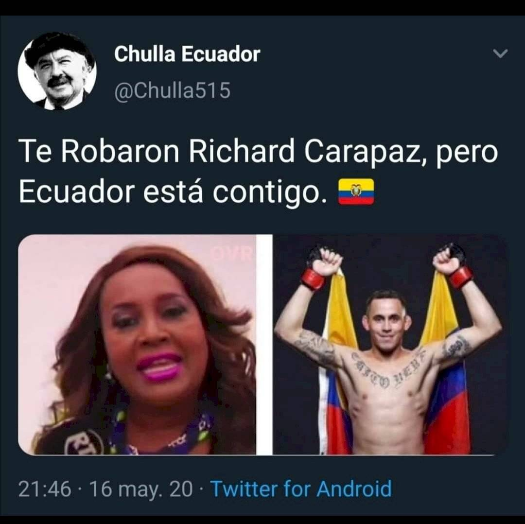 Memes tras la derrota de Marlon Chito Vera