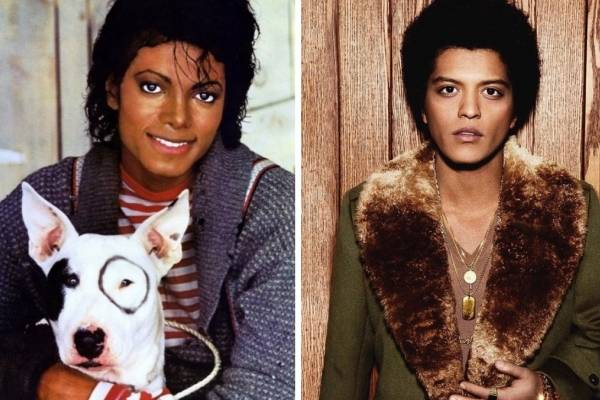Michael Jackson y Bruno Mars, teoría que dice que son padre e hijo ...