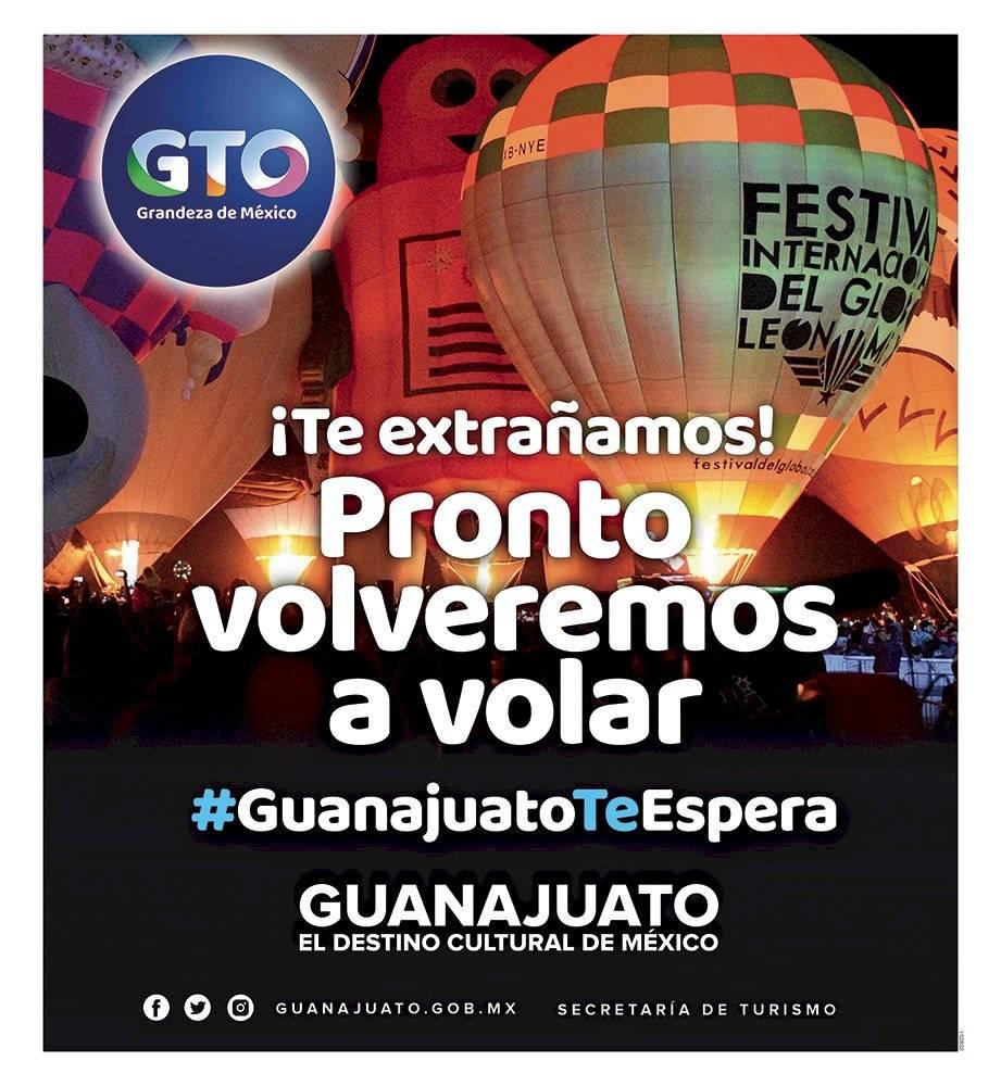 Anuncio Gobierno de Guanajuato edición CDMX del 18 de mayo del 2020, Página 03