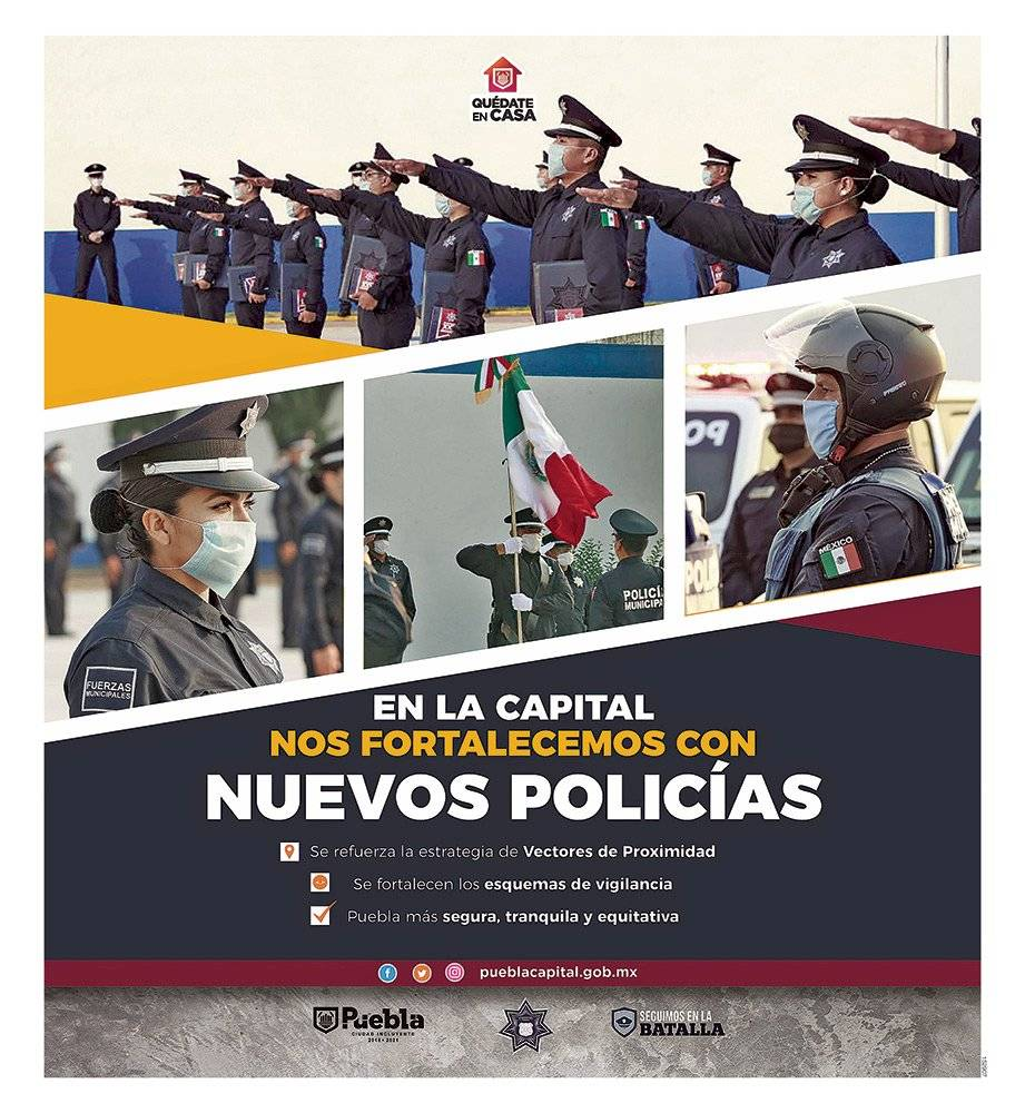 Anuncio Gobierno de Puebla edición Puebla del 18 de mayo del 2020, Página 05