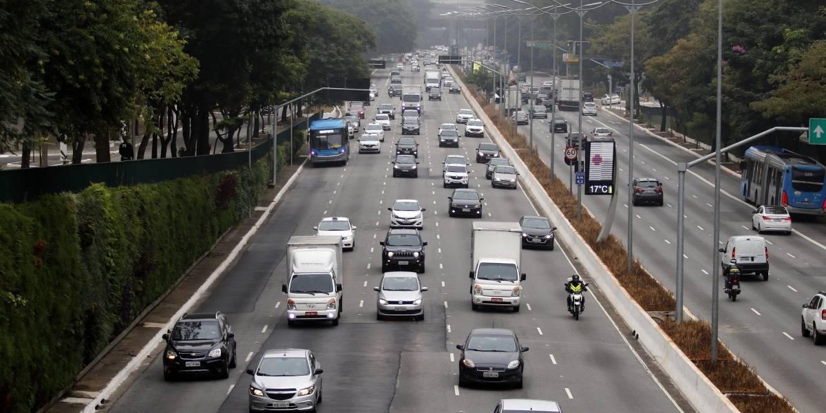 São Paulo tem 3 km de congestionamento com retorno do rodízio tradicional