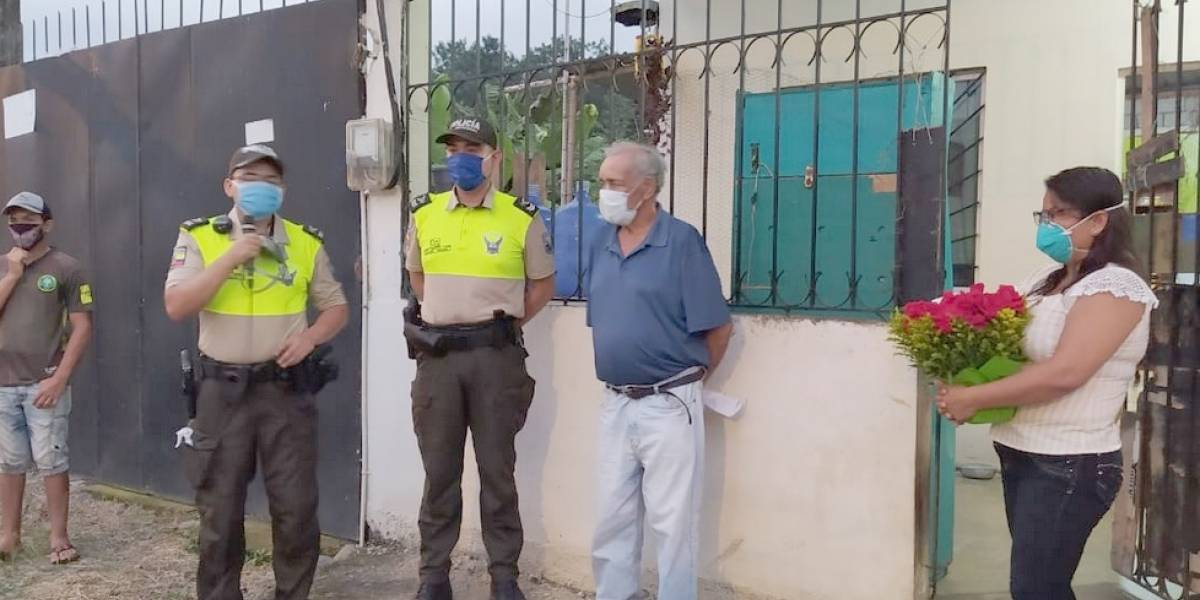 Se recupera adulto de 75 años, primer caso de Covid-19 en Quevedo