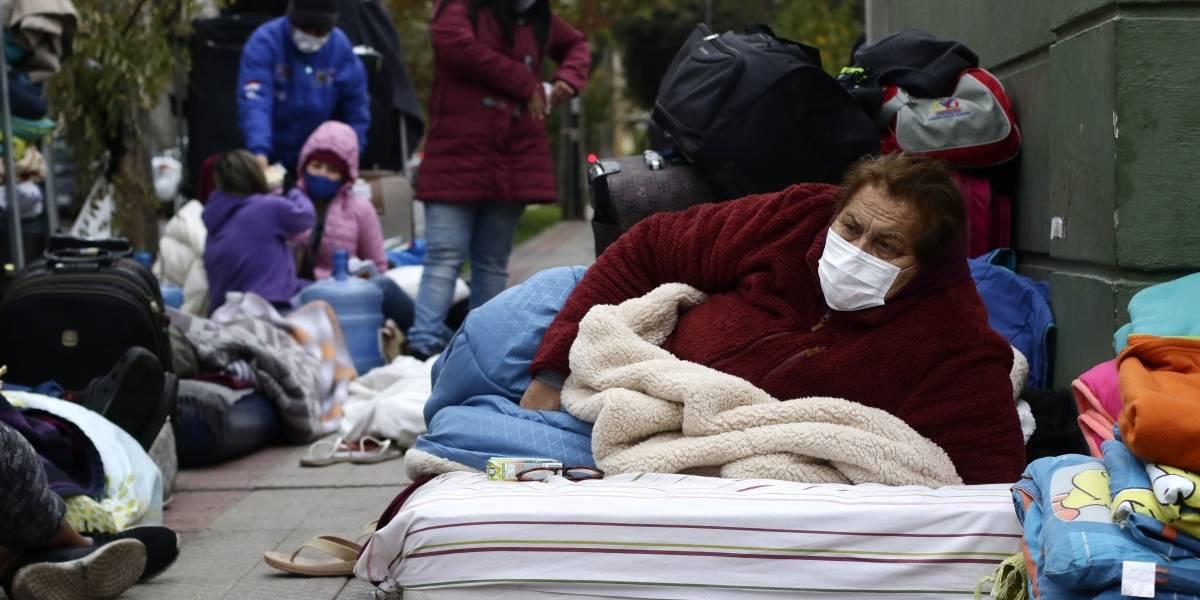 Extranjeros varados en Chile: Cancillería busca una solución para que puedan salir del país
