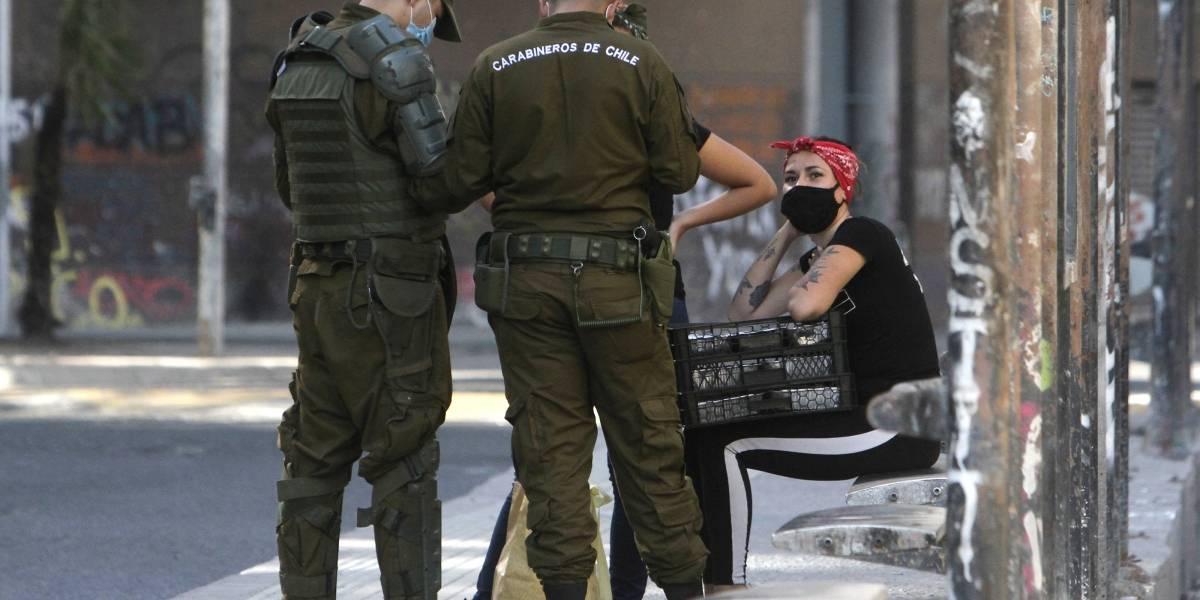 Chiste repetido sale podrido: cinco reincidentes por no acatar toque de queda pasarán a control de detención