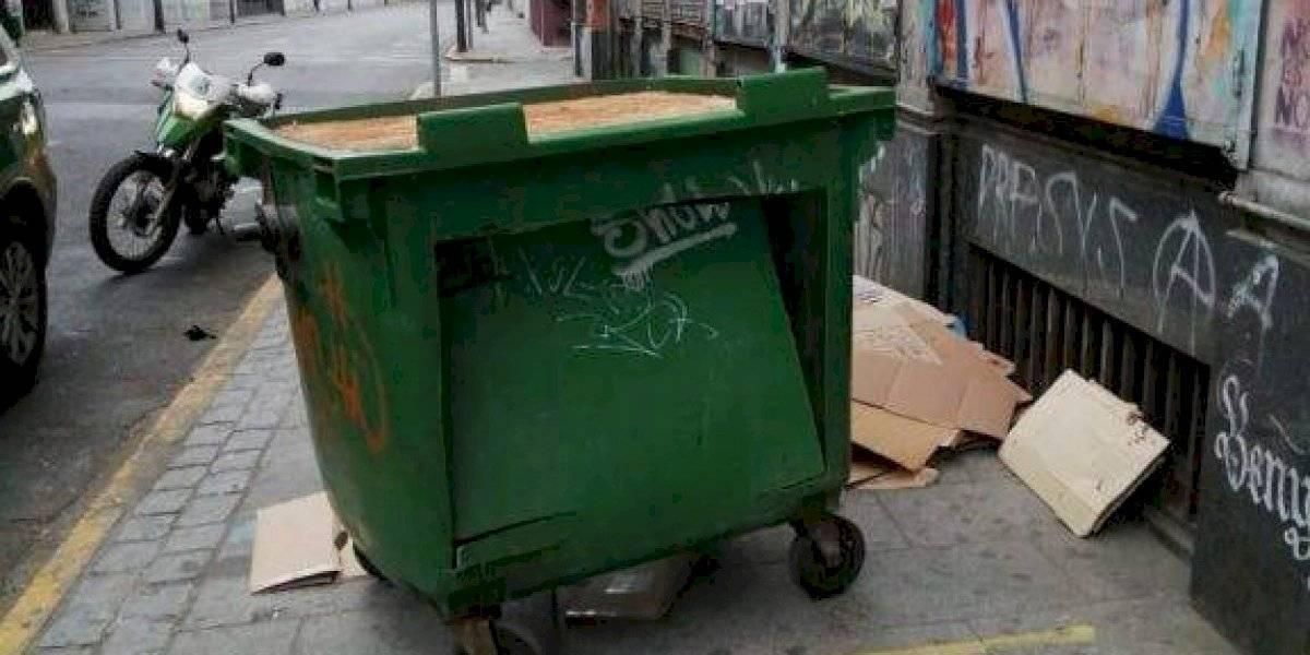 La Casa de Papel versión porteña: Dos hombres intentaron robar una caja de compensación desde un basurero