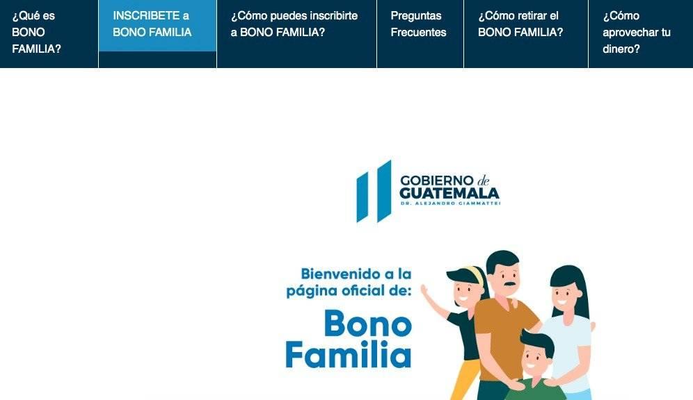 Habilitan mecanismos de registro de datos para Bono Familia ...