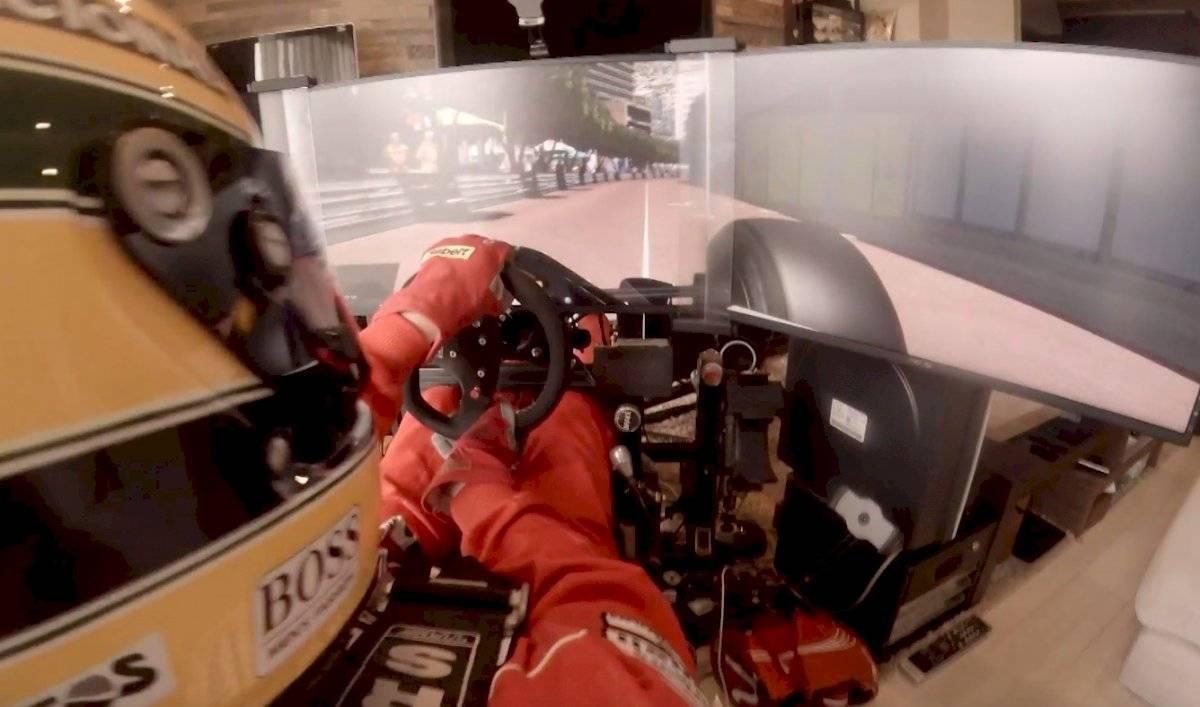 ¡Inaudito! Fan de la Fórmula 1 construye simulador en su casa
