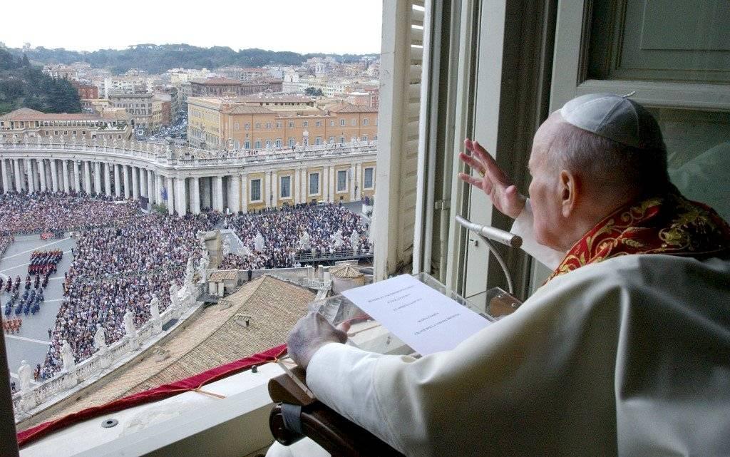 Papa Juan Pablo II en 2005
