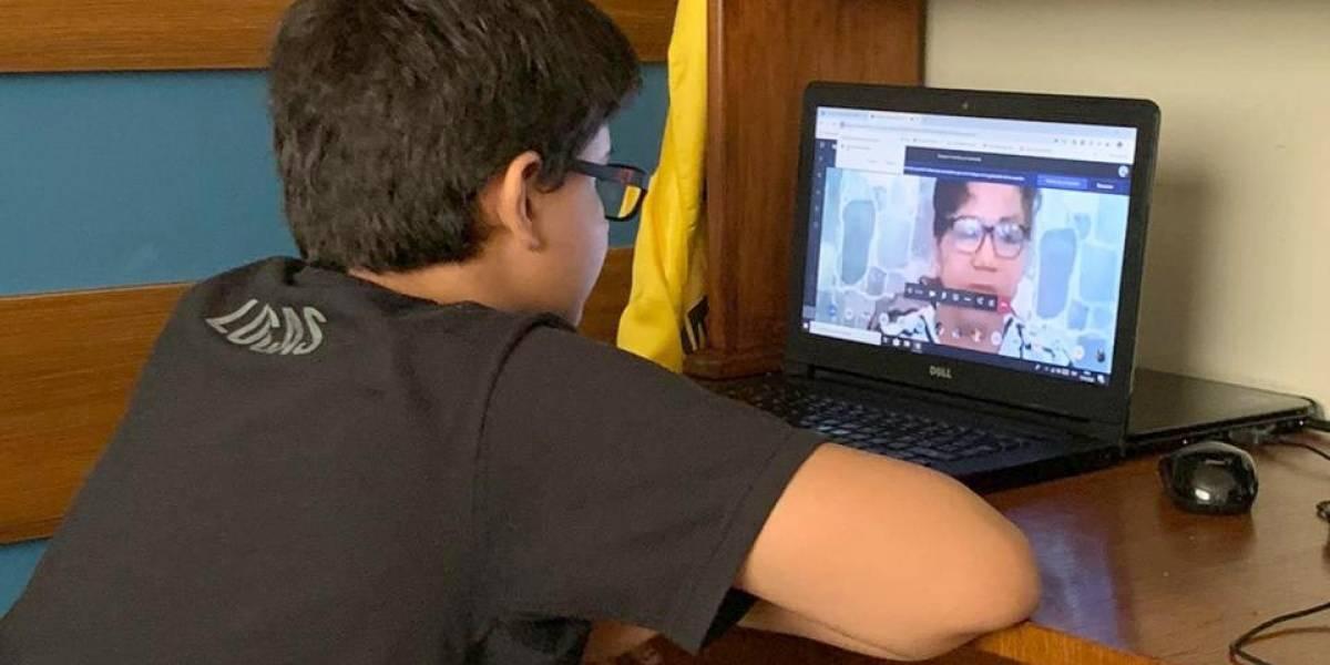 Más 60 mil estudiantes iniciaron clases virtuales en la Costa