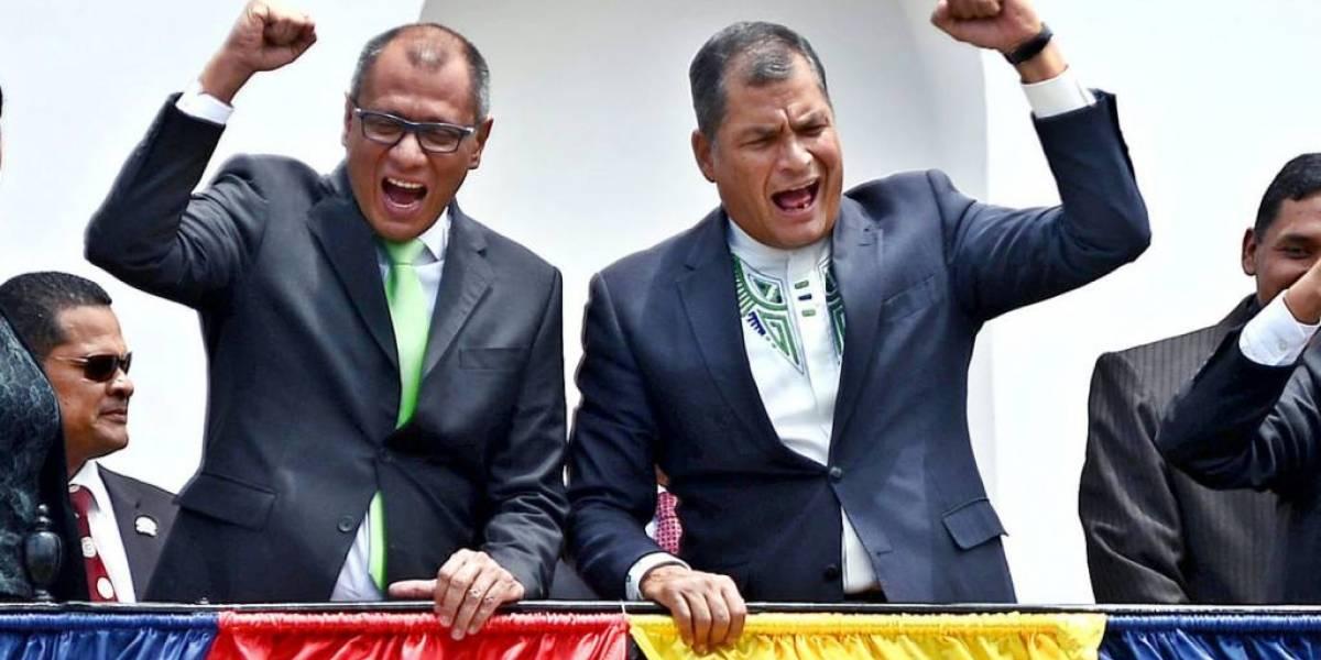 Rafael Correa y Jorge Glas podrían quedarse sin pensiones vitalicias