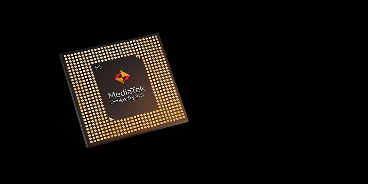 MediaTek muestra su nuevo chip 5G Dimensity 820: pura potencia para juegos, video 4K y redes