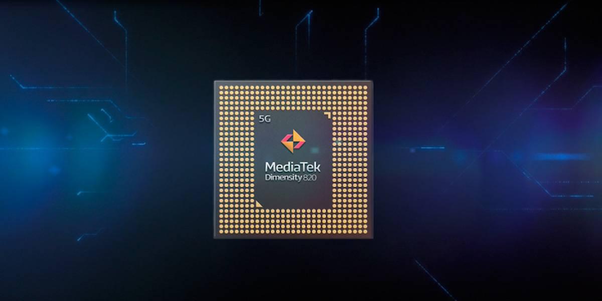 Mediatek muestra su nuevo chip 5G Dimensity 820: pura potencia para juegos y redes