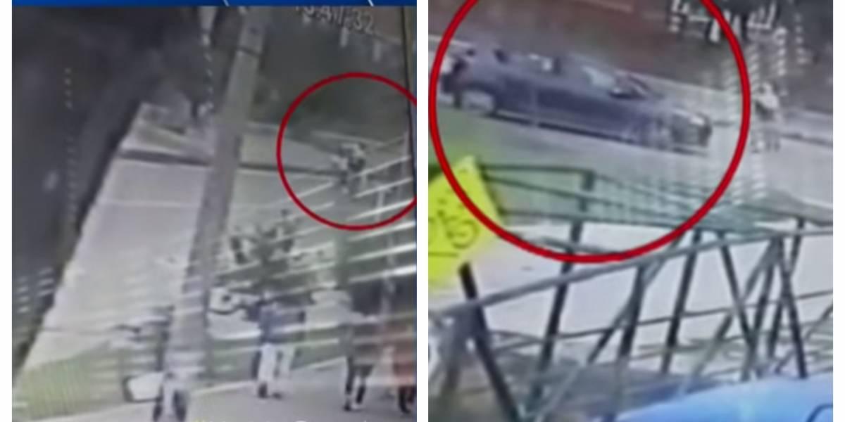(VIDEO) Ladrones asesinaron a conductor que intentó detenerlos